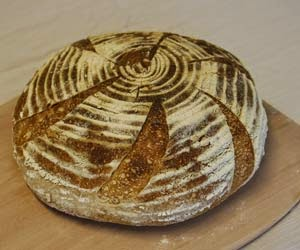 Irish Maslin bread