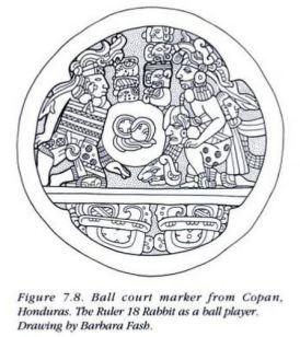 LSD Ballcourt Marker Copan