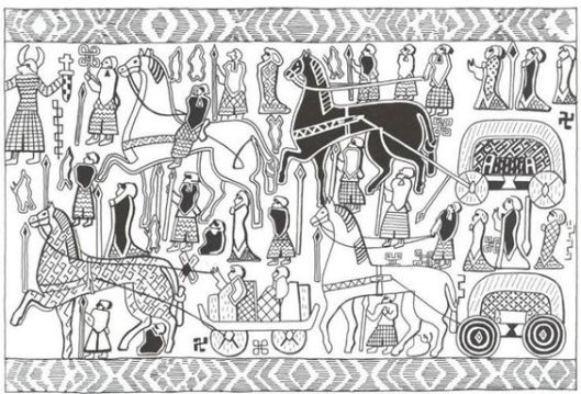 Osberg Tapestry Wagon
