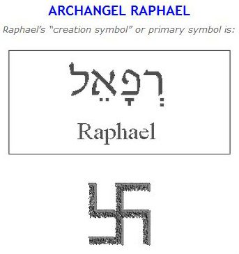 1 Raphael Archangel Swastika