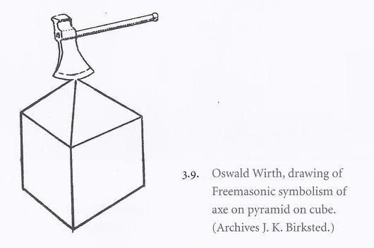 Oswald Wirth Pyramid AXE apex