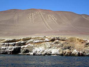 El Candelabra PERU from a boat