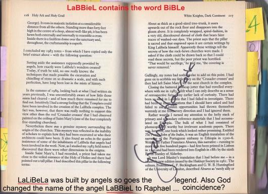 Graham Hancock Bet Maryam SIGN and the SEAL signature LaBBieL LaLiBeLa
