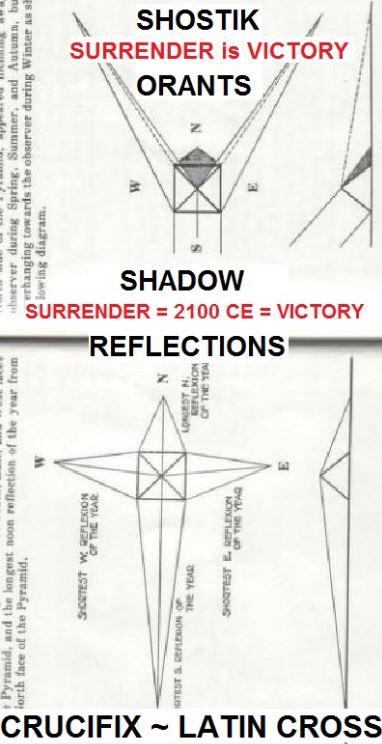 Great Pyramid Reflexions Shadows