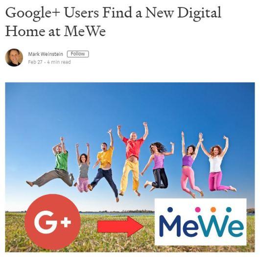 MeWe started by Mark Weinstein