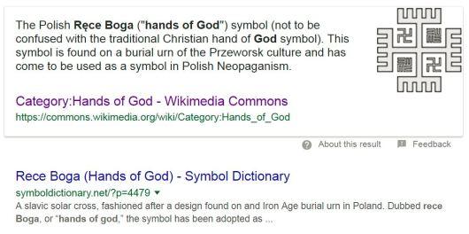rece boga hands of god