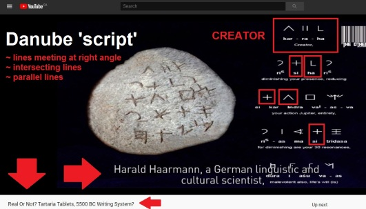 Danube Script L T V Kar Ra Ha CREATOR H. Haarmann